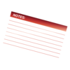 Glossy Pouches - File Card, 5 mil, 100 pack__File card Red LF.png