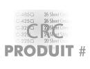 Entrez Le CRC Du Produit