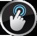 écran tactile innovant avec rétro-éclairage par LED