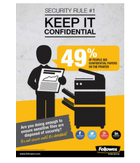 Fellowes - Careless Confidentiality Posters