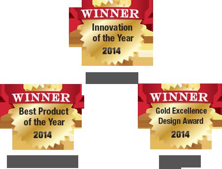 Award winning design and Innovation