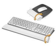 I-Spire Wrist Supports for Mouse and Keyboard
