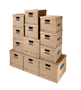 CLASSIC Moving and Storage Kit  sc 1 st  Bankers Box & SmoothMove Moving Storage Boxes - BankersBox®