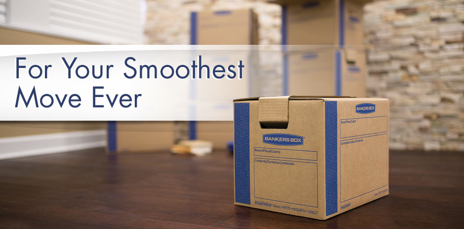 For Your Smoothest Move Ever - Smoothmove Moving Boxes & SmoothMove Moving Storage Boxes - BankersBox®