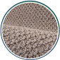 HEPA air filter protects against pollutants from carpets