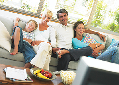 Family protected by AeraMax Air Purifiers