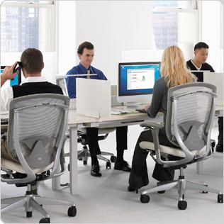 Ultra Silenciosas, lo que asegura un buen ambiente de trabajo
