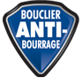 Le boulier anti-bourrage évite toute interruption pendant la destruction.