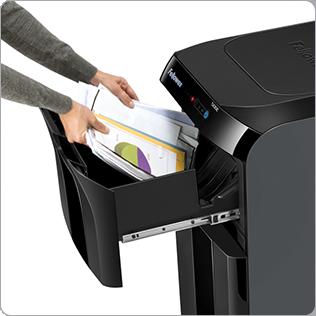 La technologie Surefeed™ garantie une destruction automatique et sans limite pour une productivité maximale.