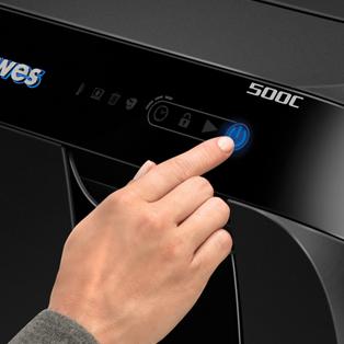Innovativa tecnologia touch screen con LED a luce posteriore