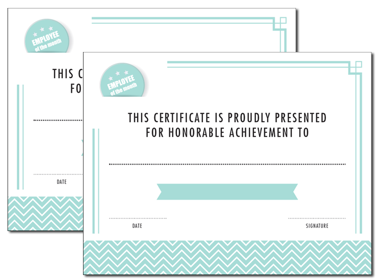 graphic relating to Employee of the Month Printable Certificate named Printable - Staff Of The Thirty day period Certification - Fellowes®