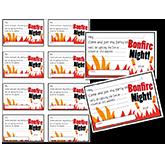 printables bonfire invitations fellowes