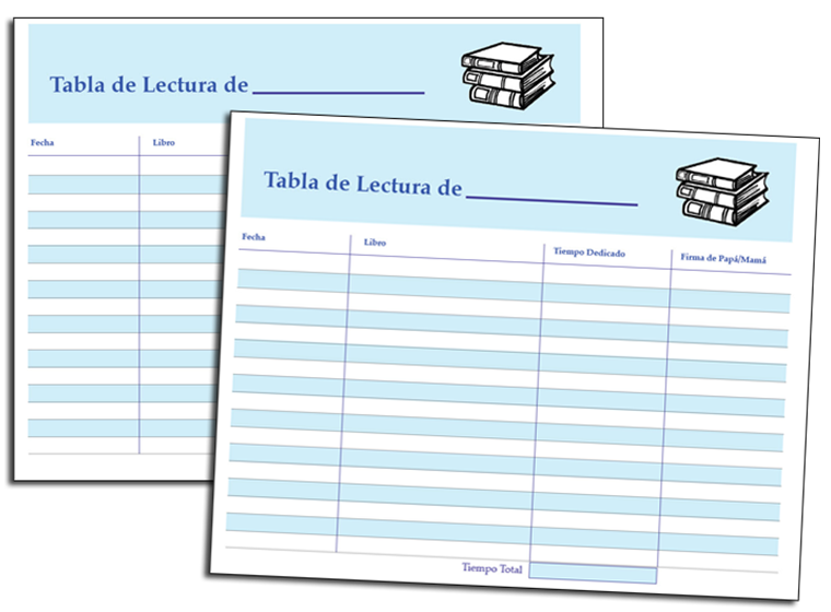 graphic relating to Spanish Printable known as Printable - Printable Looking at Log Within Spanish - Fellowes®