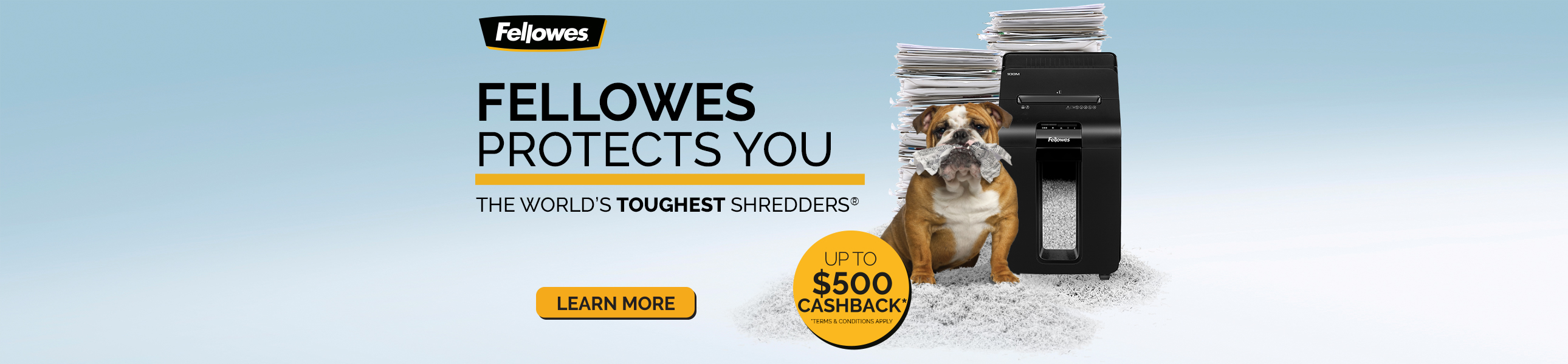 Fellowes Protects You - World's Toughest Shredders