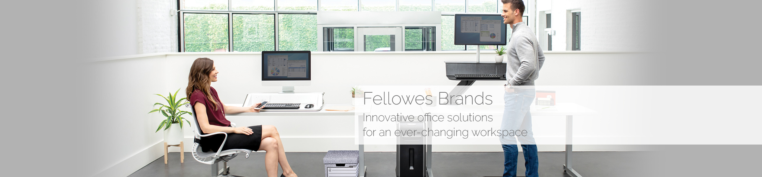 Fellowes innovative office solutions for an ever-changing workplace