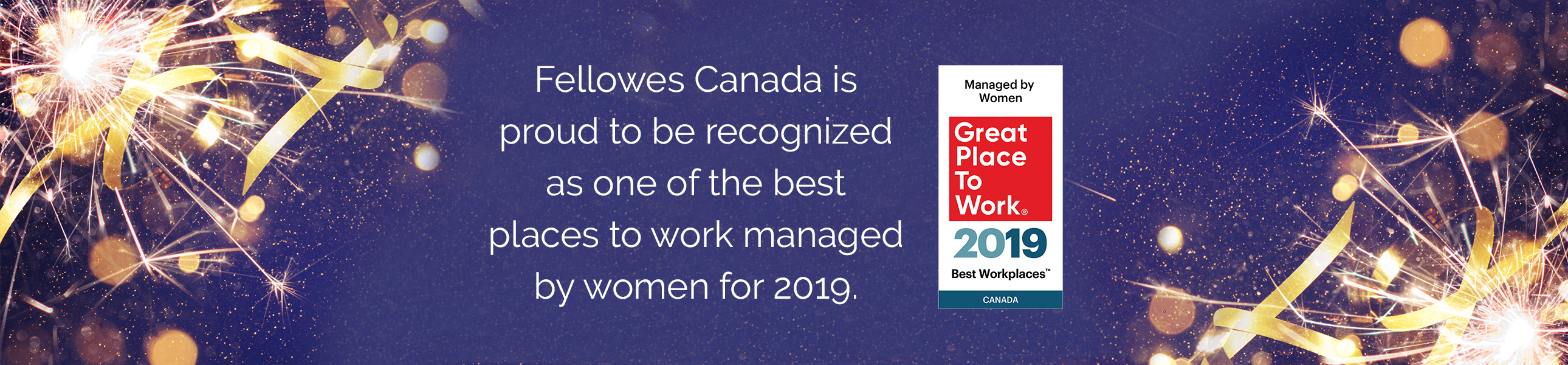 Fellowes Canada - Best Workplaces Managed By Women