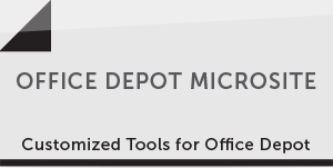 Office Depot Microsite