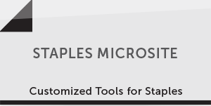Staples Microsite