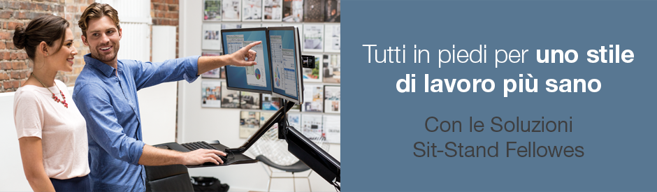 Soluzioni Fellowes Sit-Stand