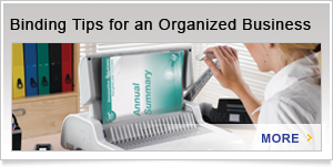 Binding Tips for an Organized Business