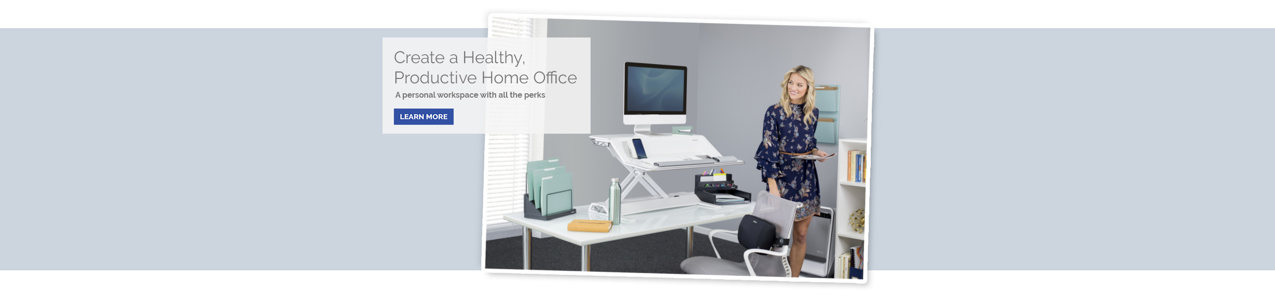 Create a Healthy Productive Home Office