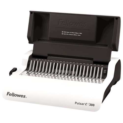 Pulsar™ E 300 Electric Comb Binding Machine w/Starter Kit