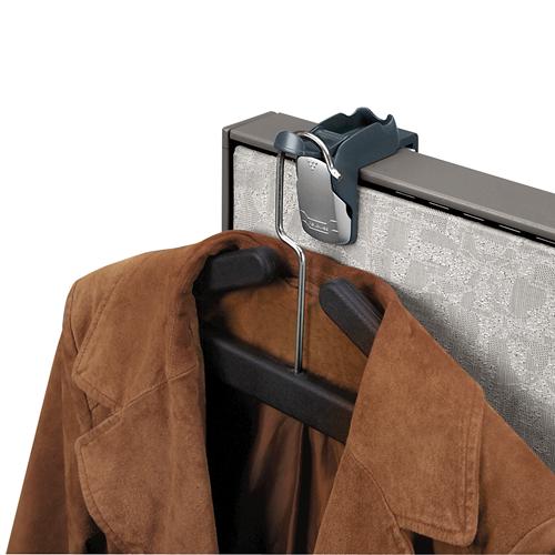 Partition Additions™ Coat Hook Clip Fellowes Adorable Cubicle Coat Rack