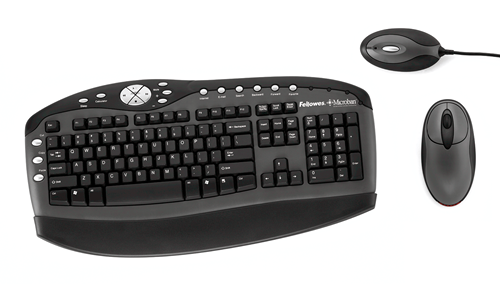 bbe4369d081 Cordless Keyboard & Mouse Combo w/ Microban® Product Protection ...