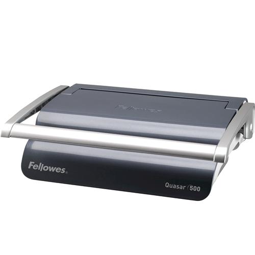 Quasar™ 500 Comb Binding Machine w/Starter Kit - Fellowes®