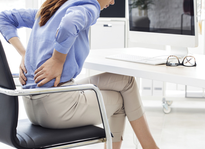 Maintaining good posture at work and why it matters