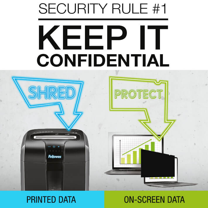 Keep it confidential with Fellowes