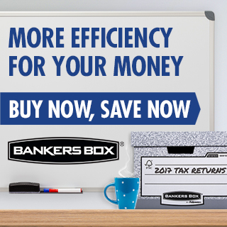 Bankers Box by Fellowes Organisation made easy