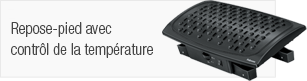 Fellowes Ergonomic Climate Control Foot Rest