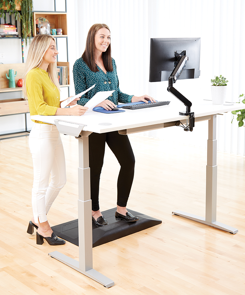 Standing Up for Wellness and Workplace Efficiency