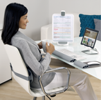I-Spire Back Cushion for Home Office Workspace